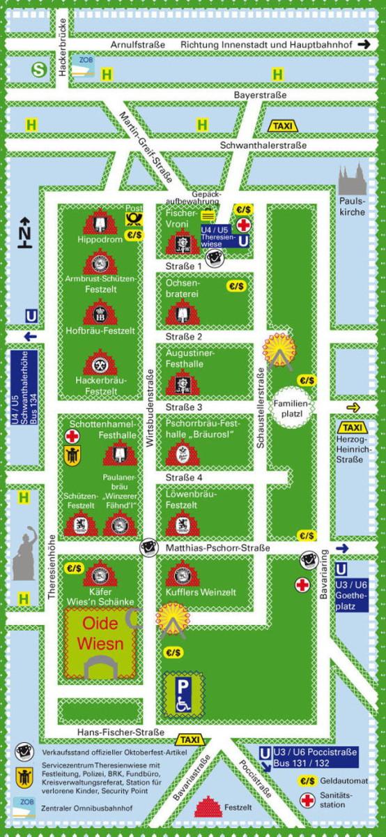 Карта Октоберфест