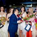 Вилли Токарев и участницы конкурса Пивная краса России 2013